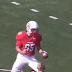 College football kicker runs in own blocked field goal for TD (Video)