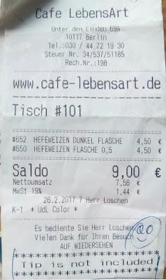 Ticket. Berlín