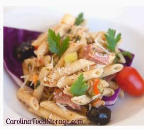 Whole Grain Thrive Pasta Salad Carolina Food Storage