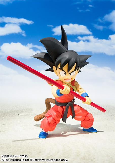 "S.H.Figuarts Goku Niño de ""Dragon Ball"" - Tamashii Nations"