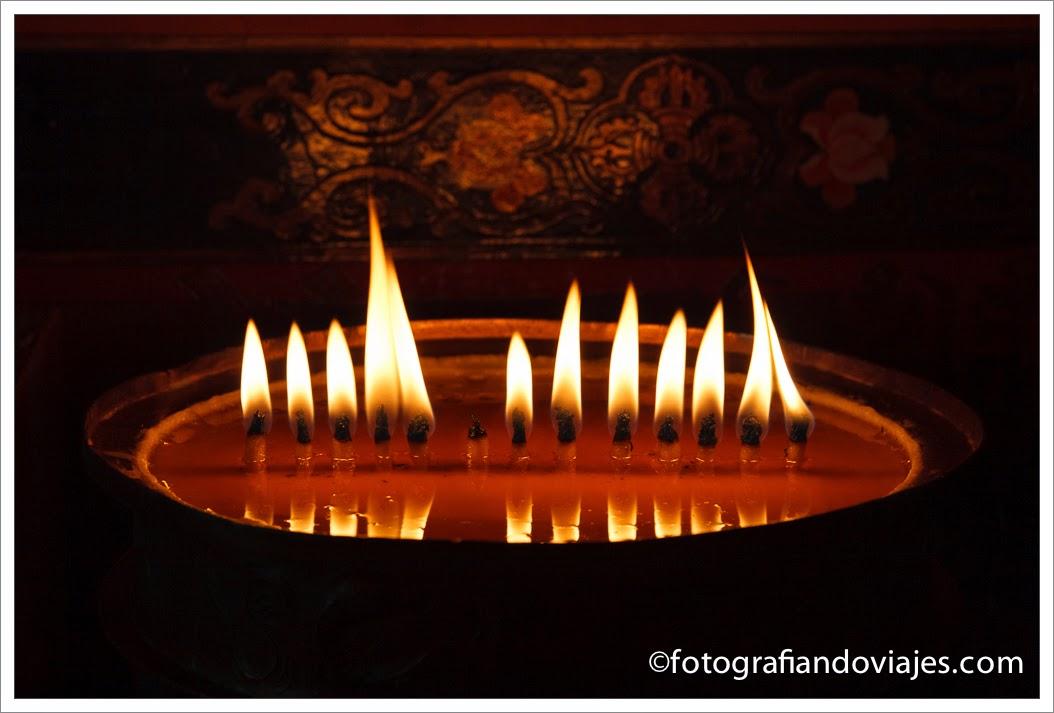 velas de mantequilla de yak