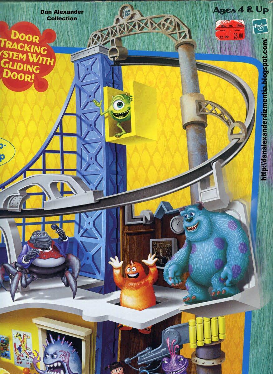 Dan Alexander Dizmentia Disney S Monsters Inc Door Vault Roller Coaster The Toy