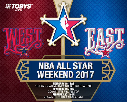 Shop Girl - Your Shopping Guide Blog: TOBY'S SPORTS NBA ALL STAR WEEKEND 2017
