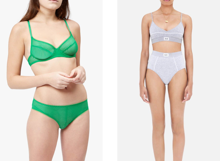 Lingerie for modern women