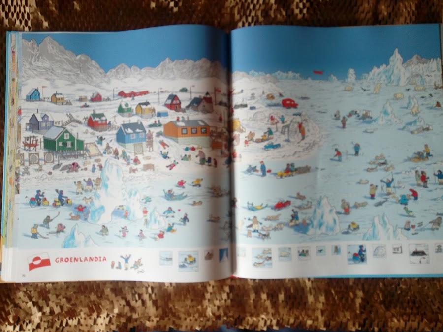 Busca y encuentra Groenlandia