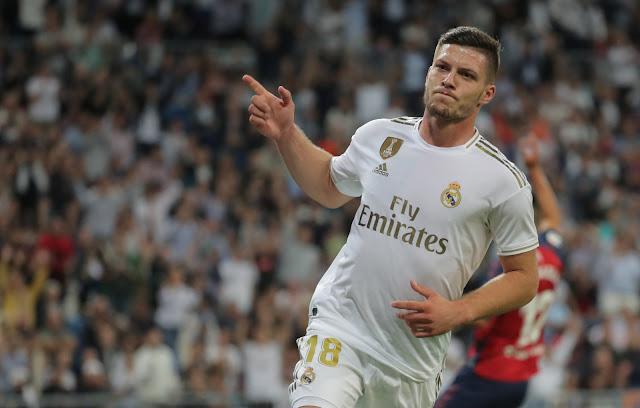 Bộ mặt nhạt nhòa, đáng thất vọng của Luka Jovic kể từ ngày đến với Real Madrid.