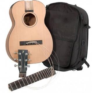 travel гитара разборная