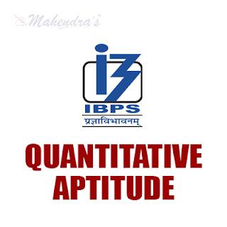 IBPS PO Quiz : Quantitative Aptitude | 13 -10 - 17