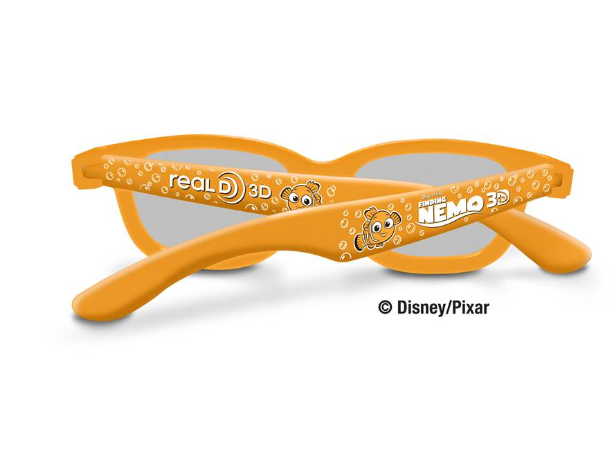 "a0810be02d4 Nemo themed kids RealD 3D glasses will be available free of charge at  participating theatres with the purchase of a kids ticket to see ""Finding  Nemo 3D"" in ..."