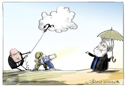 General iraniano acusa Israel de roubar chuva e neve