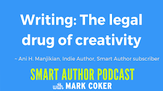 "image reads:  ""Writing: The legal drug of creativity"""