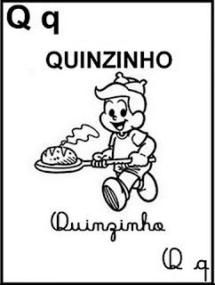 DESENHOS DE ALFABETO DA MÔNICA PARA COLORIR