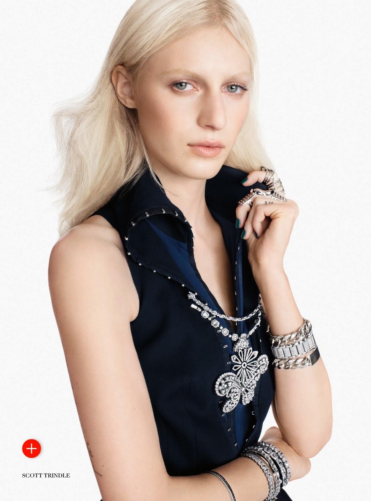 Jewel Purpose: Julia Nobis By Scott Trindle For Uk Vogue