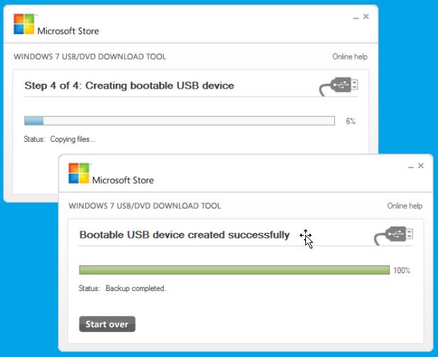 Ebook galaxy windows 7 usb dvd download tool for Window usb tool
