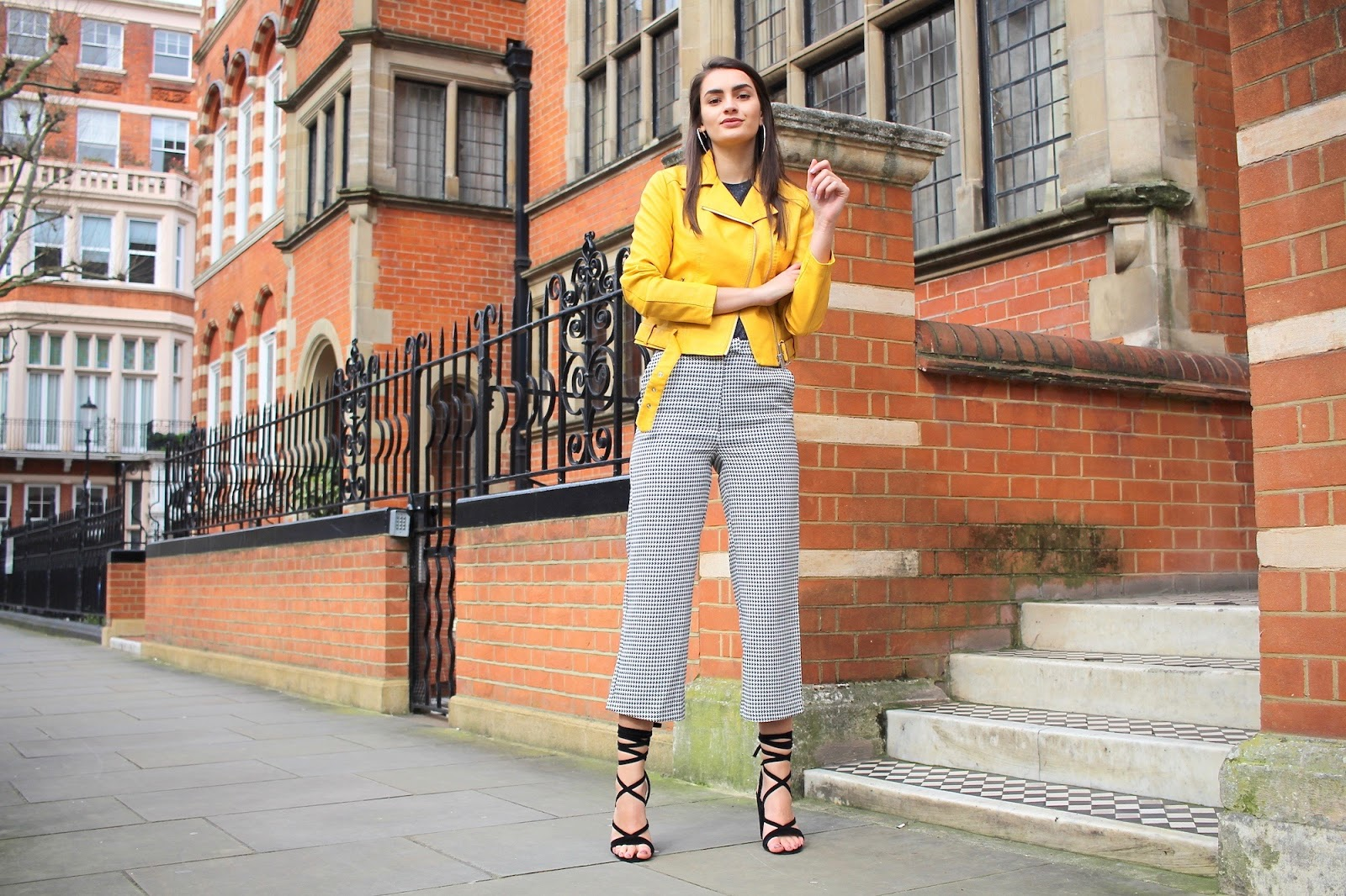 peexo fashion blog styling yellow spring london
