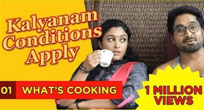 Kalyanam Conditions Apply | Episode 1 – What's Cooking | Mirchi Senthil & Sreeja