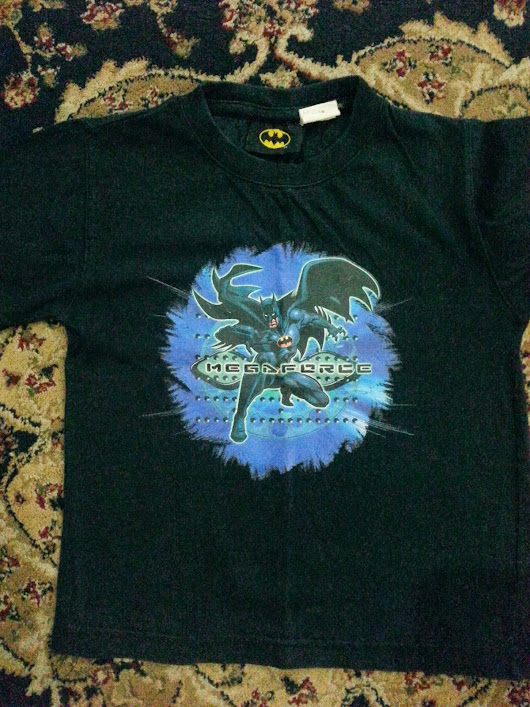 MAY004 BATMAN BLACK TSHIRT