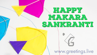 Happy Sankranti Kites HD Quality Image Greetings