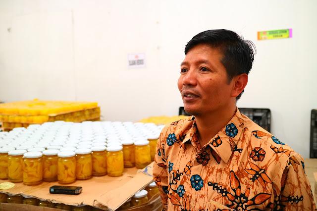 Lebih Dekat Dengan Pabrik Pengolahan Carica, Yuasa Food Wonosobo