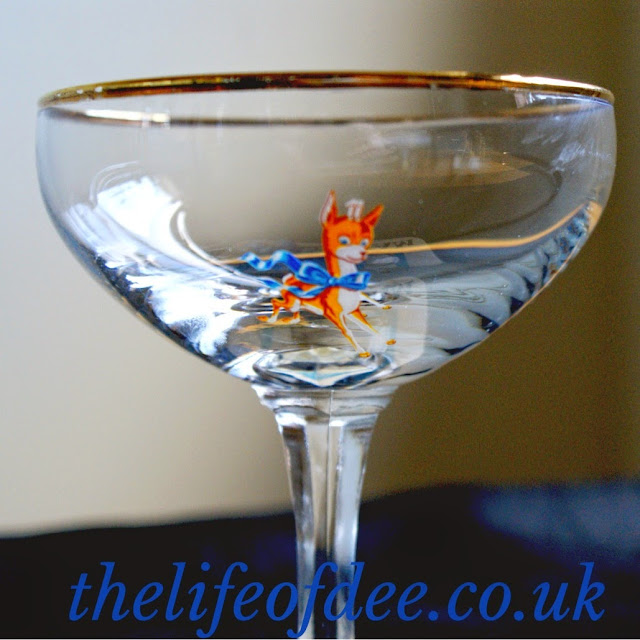 how old is my babycham glass