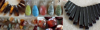 gemstone beads at Little Beader