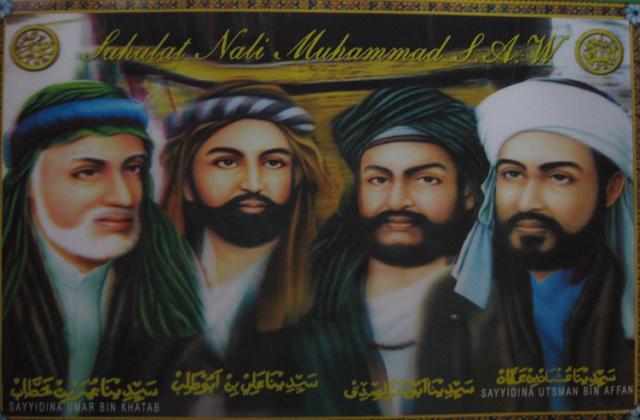 4 Sahabat Nabi yang Menjadi Khulafaur Rasyidin