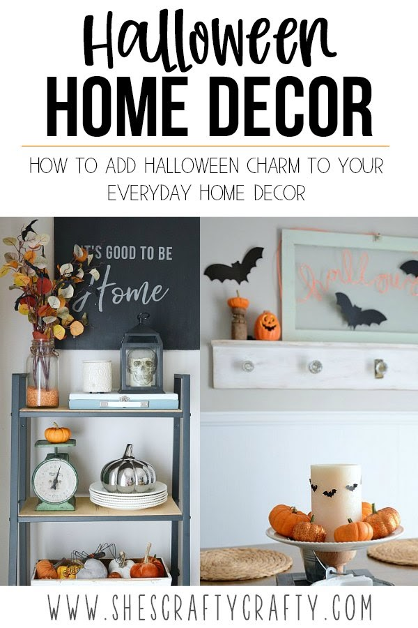 How to add Halloween Charm to every day home decor