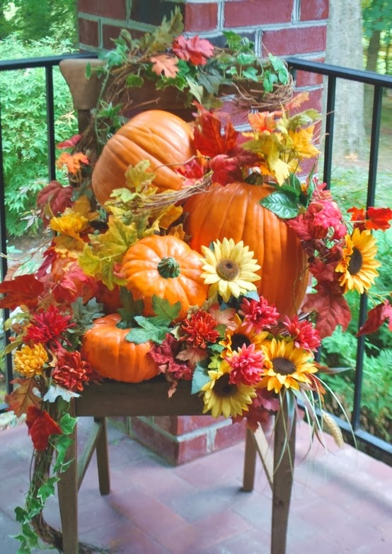 10 Fun Fall Porch Decorations on Patio Decorating Ideas With Lights id=37723