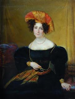 François-Joseph Kinsoen (1771-1839) - Mlle Mars - Vers 1830 - Bernard Castle, UK.