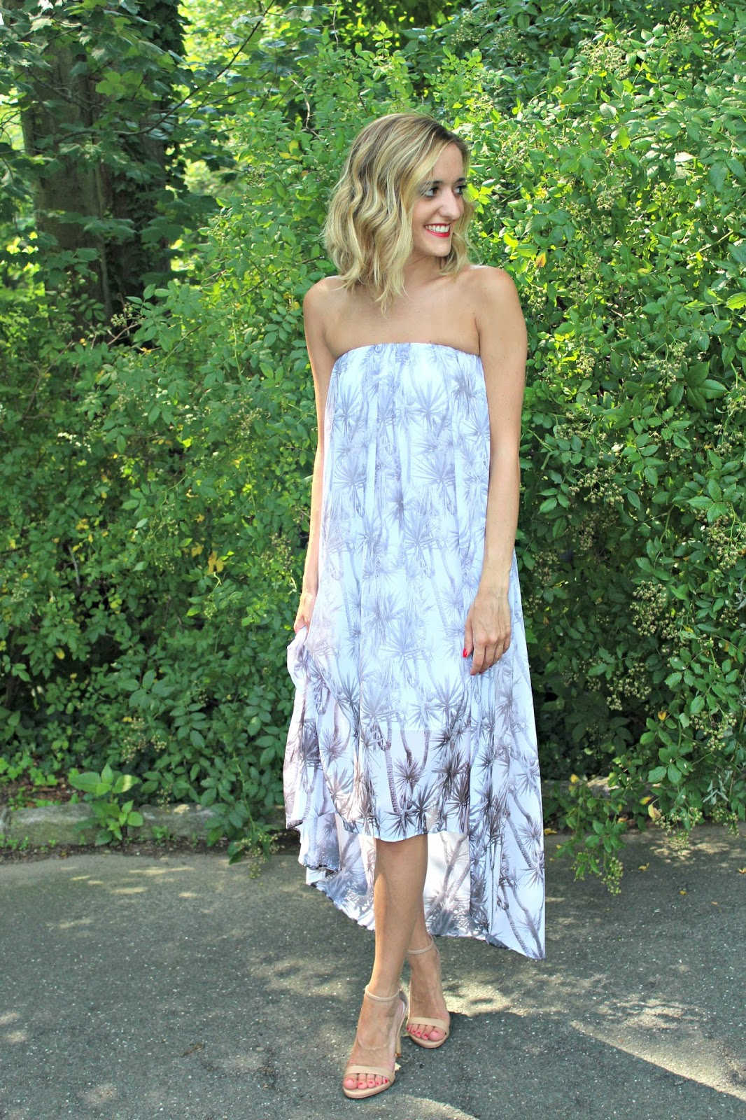 rachel roy palm dress