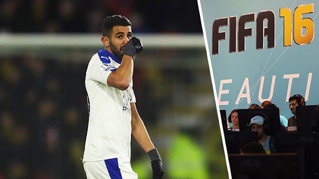 L'incroyable note de Riyad Mahrez dans l'équipe de l'année FIFA 16 !