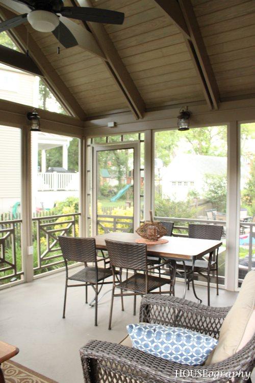 Houseography Screen Porch Let S Eat