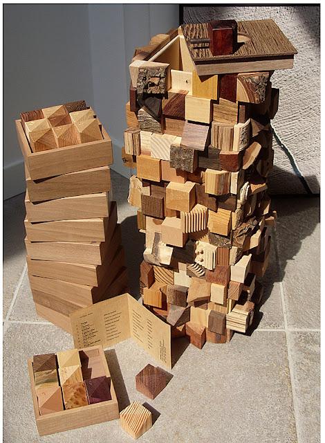 """""""Torre di Babele"""" di Luciano Molinari Ebanista- Foto dal sito www.molinariebanista.it"""