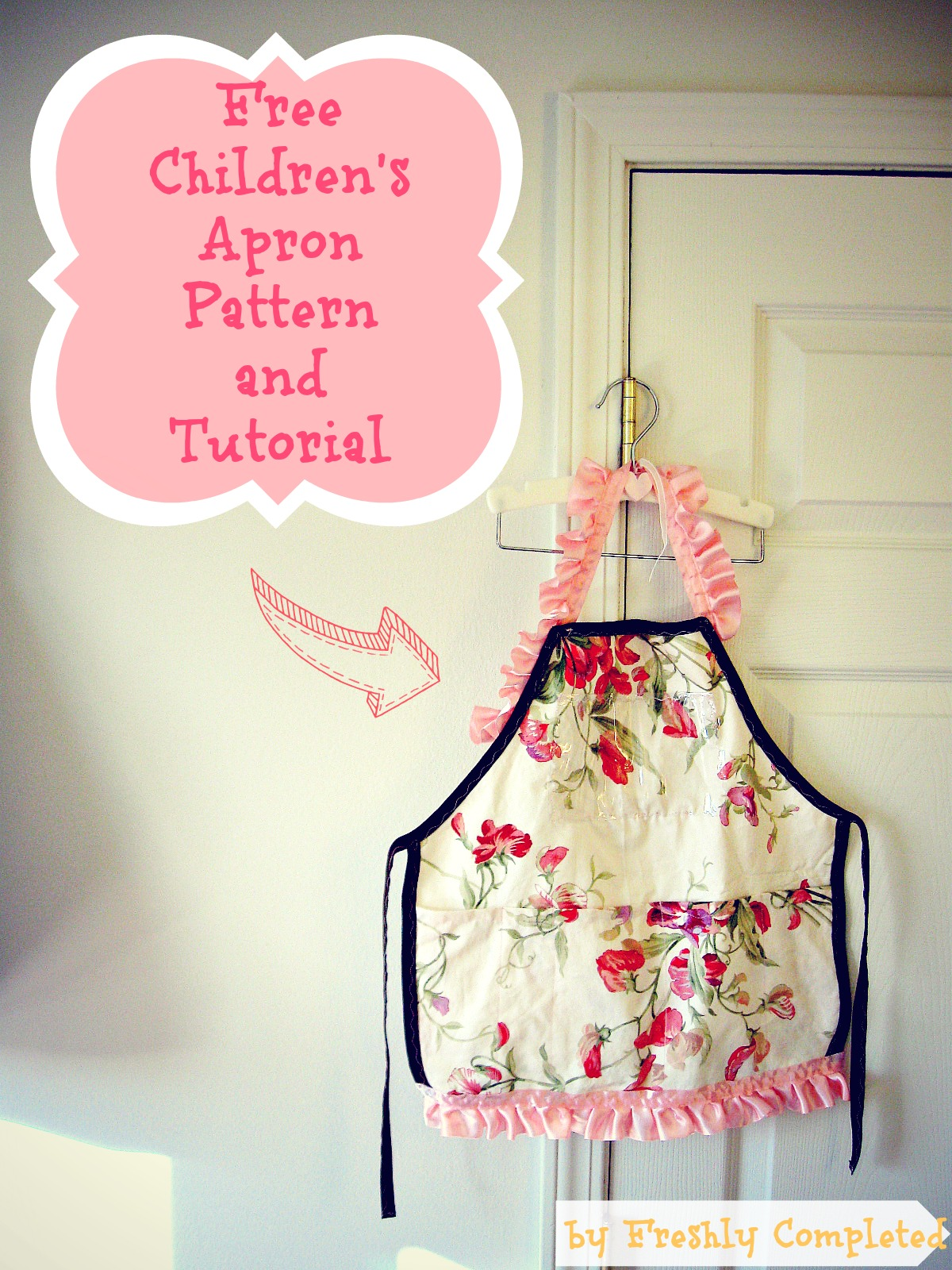 Freshly Completed Free Children S Apron Pattern Tutorial