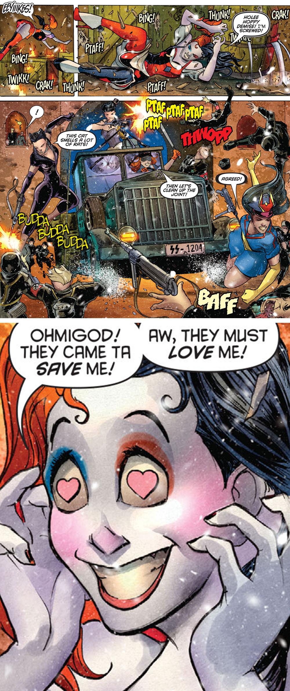 """Harley's Little Black Book #4 - """"Where Bombshells Dare!"""" (2016)"""