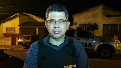 Dr. Sérgio Moura - delegado da DEAH (Divisão Especial de Apuração de Homicídios)