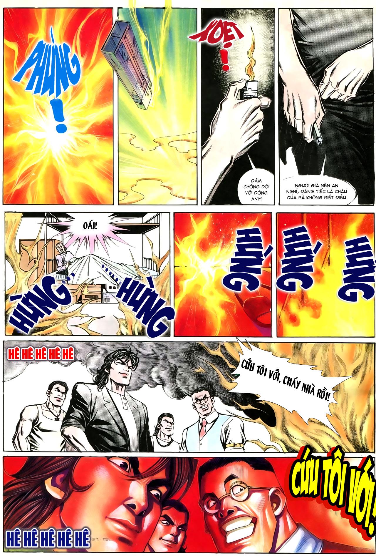 Người Trong Giang Hồ chapter 195: sóng gió ngút trời trang 18