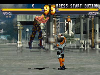 【PS】街頭霸王EX2 Plus(快打旋風),刺激爽快的3D格鬥!