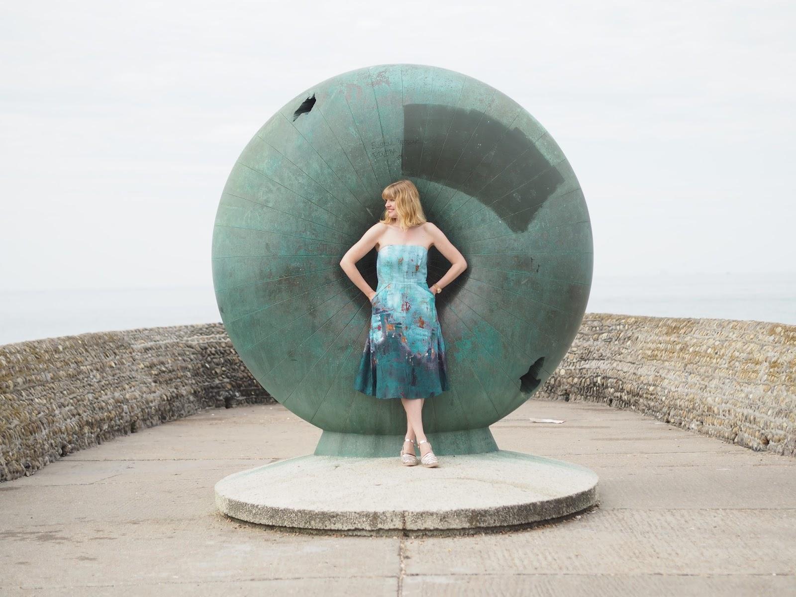 Afloat, Donut sculpture, Brighton sea front