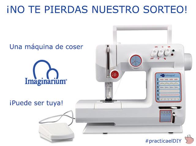 Pequeña Fashionista: Gana una máquina de coser IMAGINARIUM