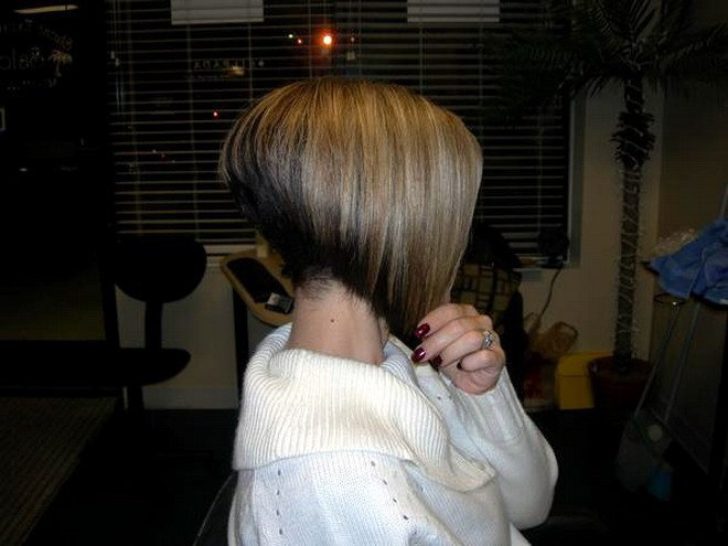 Short hairstyles  Hair Care Tips Angled Bobs