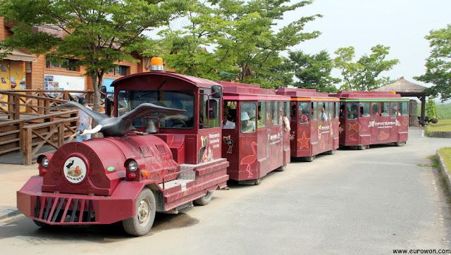 Tren turístico de la Bahía Suncheonman