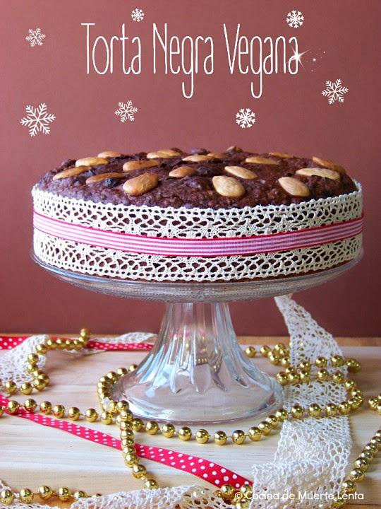 Torta Negra Vegana