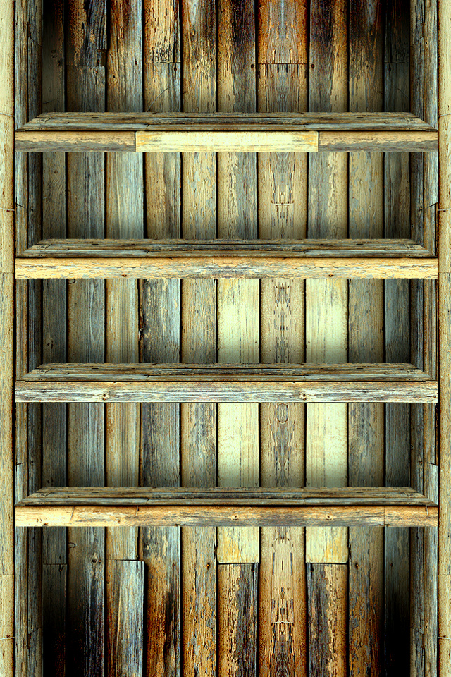 Wood Iphone 5 Wallpaper Awesome Iphone Shelf Wallpapers Gallery Free Mobile App