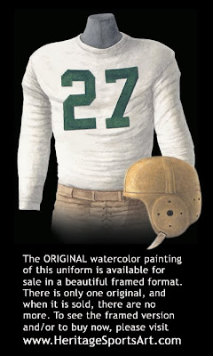 Green Bay Packers 1939 uniform