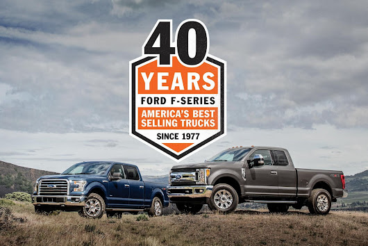 Forty Years of Ford F-150: America's Best Selling Trucks