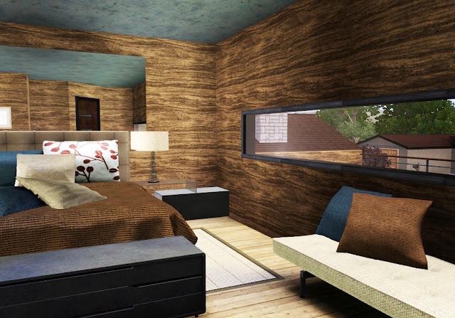 décoration chambre sims 3