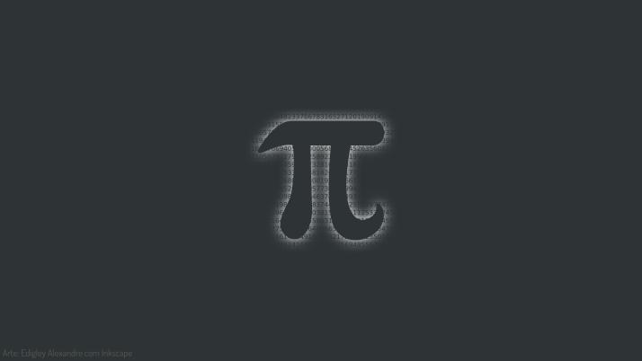 Wallpaper matemático 4: revelando Pi