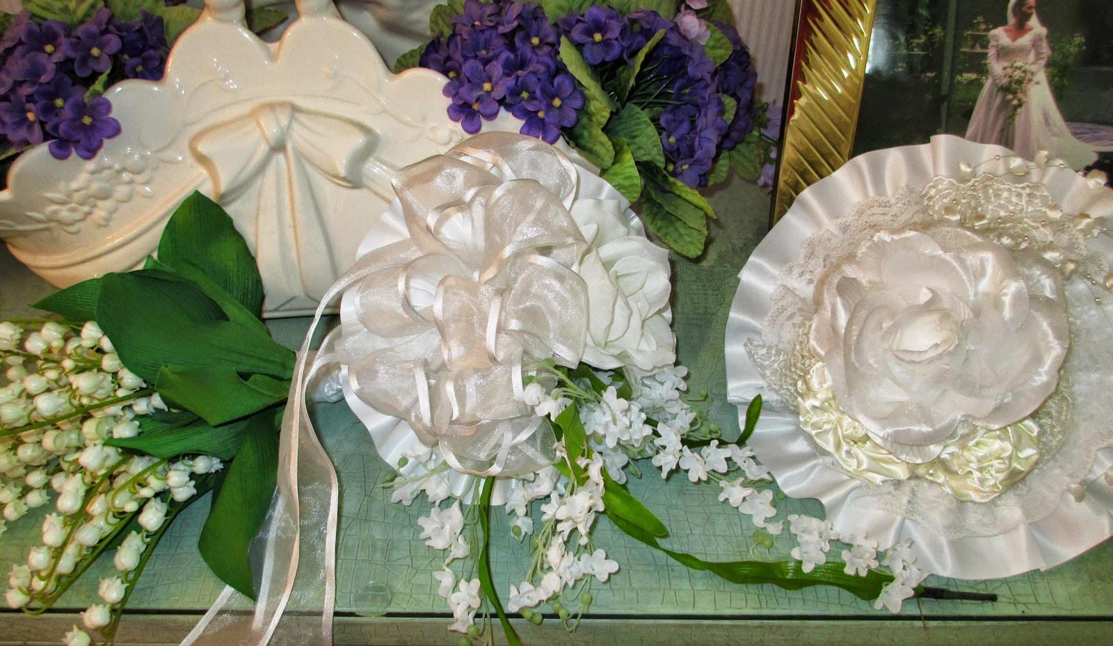 Lily Of The Valley Wedding Bouquet: Casual Elegance By Beverly Girolomo : SALE 25% OFF~Lily Of