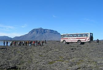 Voyager en bus en Islande